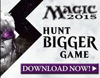 Wizards of the Coast Web Ads - Production