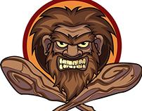 Neanderthal logo mascot