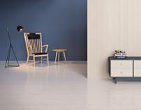 Furnitures 3D visualization