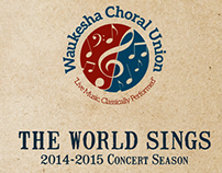 Waukesha Choral Union 14/15 Season Brochure
