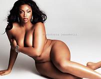 Plus Model Magazine LOVE your body editorial