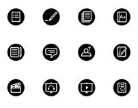 Online Course Icon Set