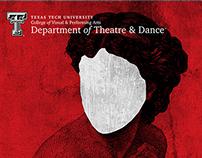 Poster design for TTU's 2013-2014 Season