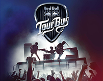 Red Bull Tour Bus India