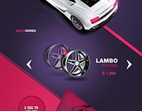 Lamborgini OnePage