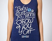 Dan + Shay Official Merchandise Design Projects