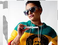 Reggaeking.com X Reshma B Look book