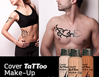 Cover Tattoo - Branding and Packaging