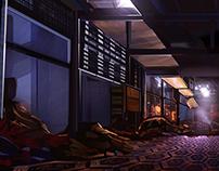 Ruined Hallway