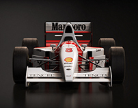 McLaren MP4/8 1993