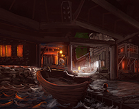 Sheltered Dock