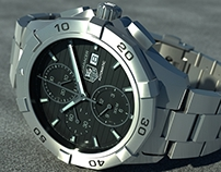 Depth of Field effects with moskitoRender on TAG Heuer