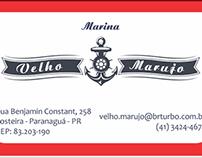 Cartão de Visitas - Marina Velho Marujo