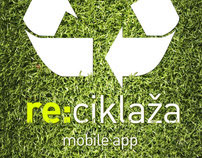 re:ciklaža | re:cycle mobile app