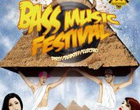 "Flyer ""Bass Music Festival"""