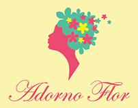 Cartão de Vistas - Adorno Flor