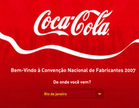 Coca-Cola's Annual Convention Hotsite