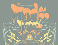 Sturgill Simpson Gigposter - Designed to flip 180°