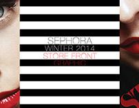 Sephora- Winter 2014 Store Front