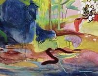 Junior Year Paintings, Prints, & Drawings