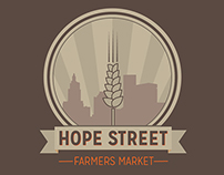 Hope Street Farmers Market Identity Proposal