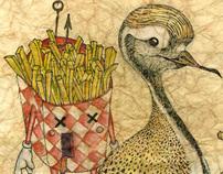 Fast bird food