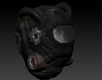 Post Apocalypse Gas Mask