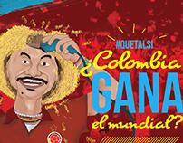 ¿Qué tal si la Selección Colombia gana el Mundial?