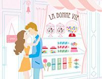 French Inspired Cake Menu 01