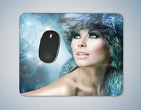 Mousepad Mockup PSD
