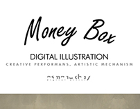 Money Box | Illustration (Timelapse video)