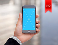 Premium iPhone 6 Mockups - 9 Pack