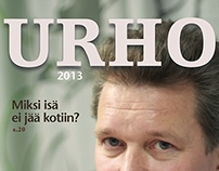 URHO -magazine layout
