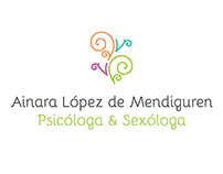 Ainara Lopez de Mendiguren | Logo and Web design