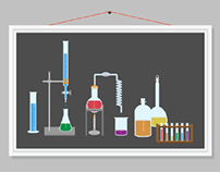 Chemistry Set - Illustration