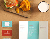 Burger Restaurant Brand Stationery