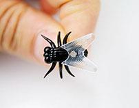 Fly Push Pins