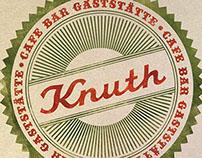 CAFE KNUTH // Logoentwicklung // Branding