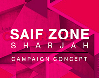 Sharjah Saif Zone Ad Campaign Concepts