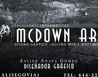 Tarjeta Personal McDown