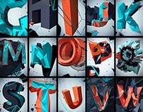 Polygon alphabet