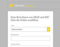 Iban Bic Rechner