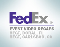 FedEX, BEGT Event Recap Videos '07 and '08