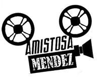 Logotipo Amistosa Mendez empresa audiovisuales ·trabaj·