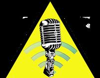 Logotipo para podcast infoxicados