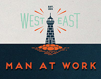 MAN AT WORK | illustration Fisherman & Miner
