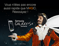 M4GIC GAMES / Un Noël magique avec la 4G d'Orange