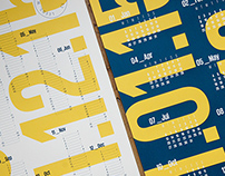2015 Screen-Printed Calendars