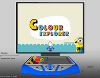 Colour Explorer - An Interactive learning aid for Kids