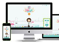 Cake Lab Website Design